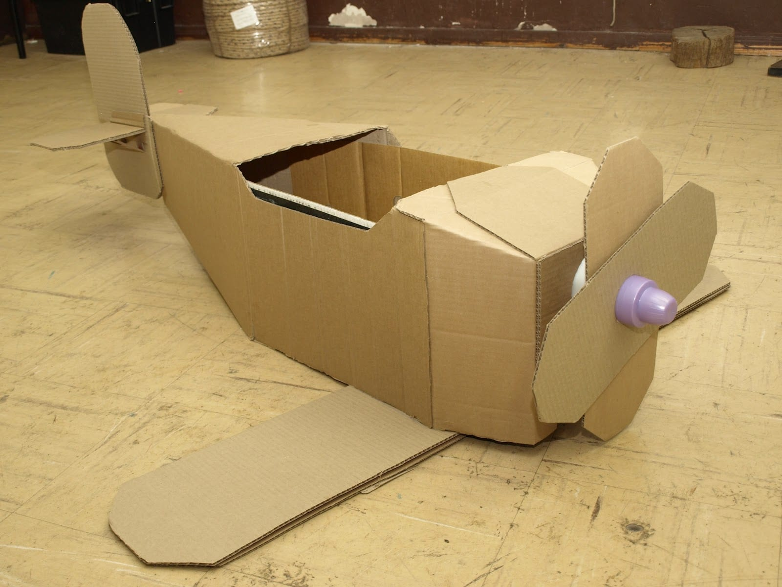 cardboard helicopter with Red Baron Challenge on Police Helicopter Searchlight Searches Suspect 3 likewise Disney Planes Dusty Crophopper Costume further Baby Wearing Costumes as well Paper Plate Boat Scene together with Birthday Gift Ideas For Five Year Old Boy.