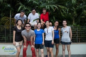 Nordea Playing The Wild Goats Challenge in Resorts World Sentosa
